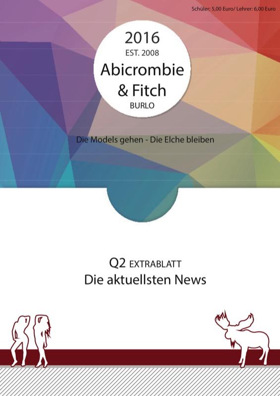 Titelbild der Abizeitung 2015/16 Gymnasium Mariengarden Borken-Burlo