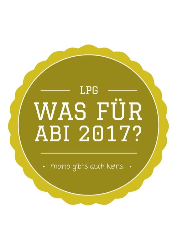 Titelbild der Abizeitung 2016/17 Luitpold-Gymnasium München