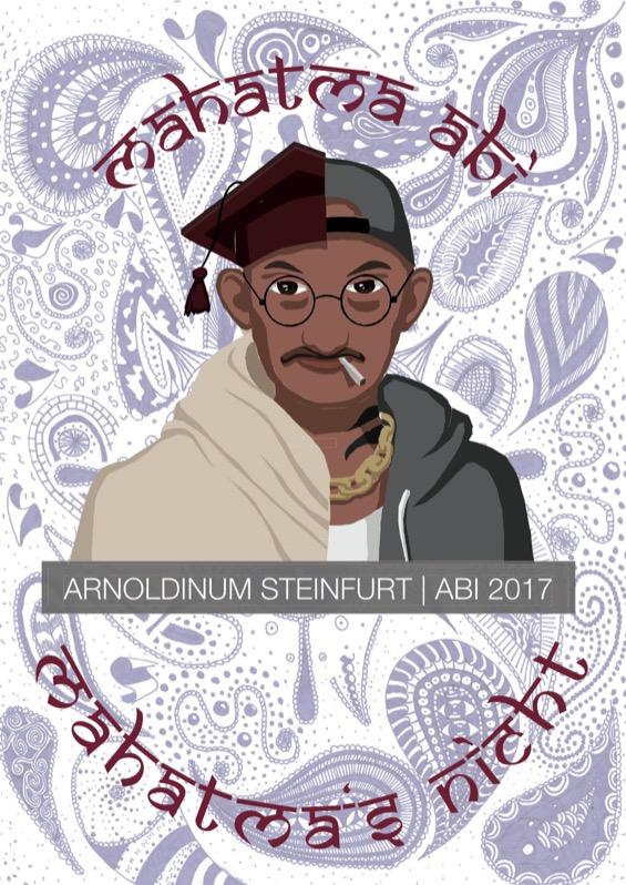 Titelbild der Abizeitung 2016/17 Arnoldinum Steinfurt