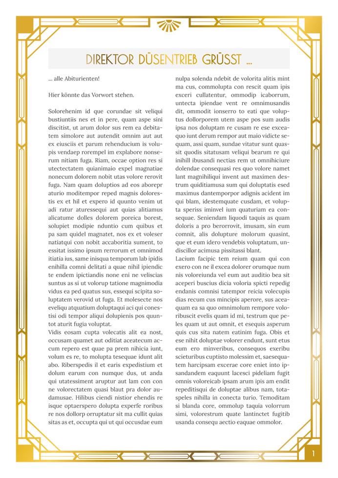 [Translate to Österreich:] Layout Golden Twenties Vorwort