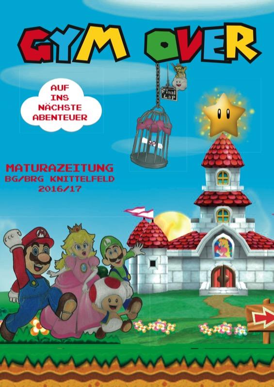 Maturazeitungs-Umschlag aus Knittelfeld