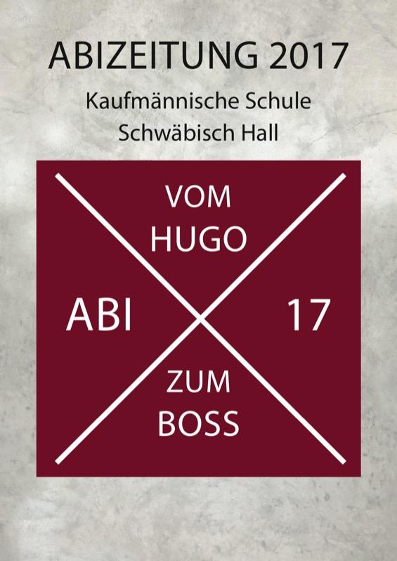 [Translate to Österreich:] Abizeitungs-Umschlag aus Schwäbisch Hall