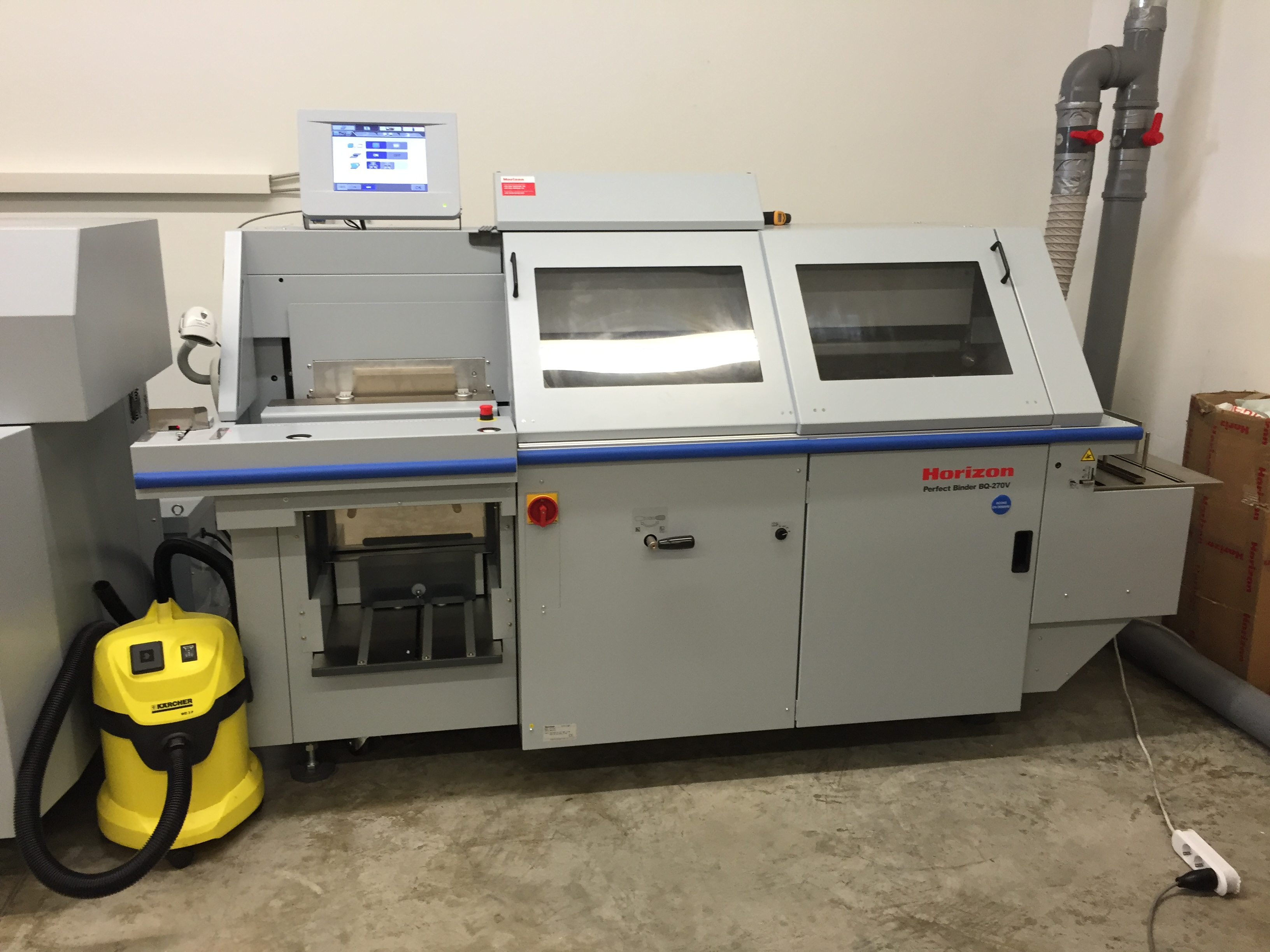 Horizon BQ 440 Klebebindemaschine