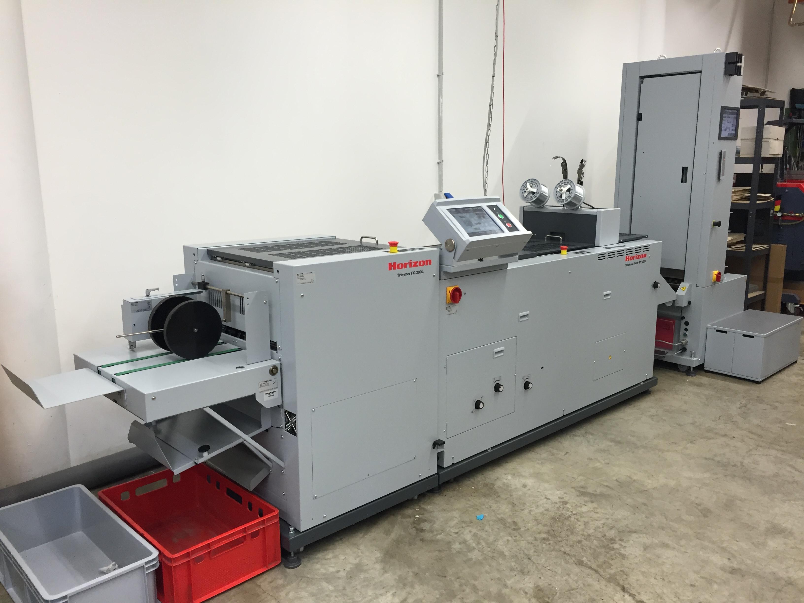 Maschine für geheftete Abizeitungen