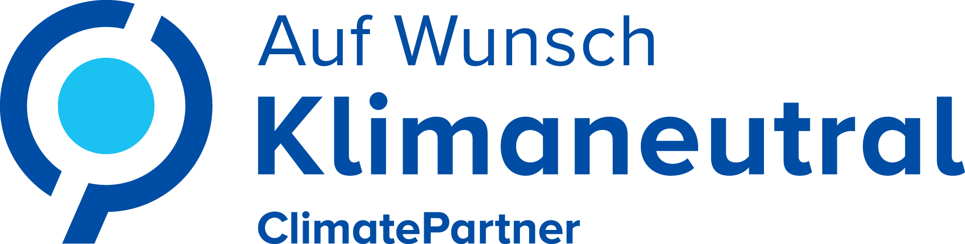 [Translate to Österreich:] ClimatePartner Logo