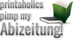 printaholics pimp my Maturazeitung Logo
